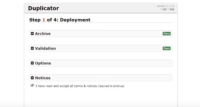 Migrate with Duplicator