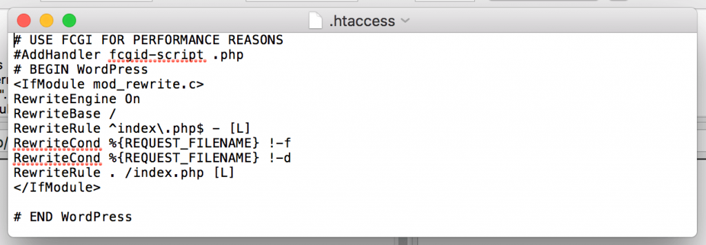 htaccess-file