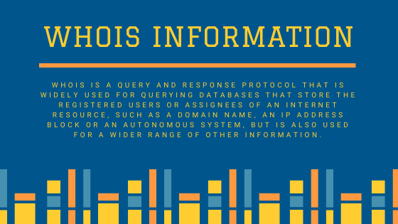 whois-information