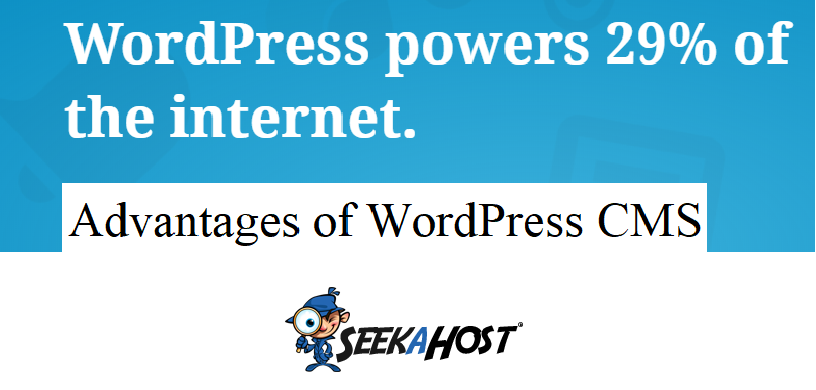 advantage of wordpress cms