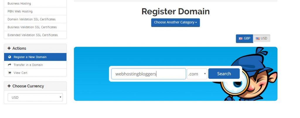 register domain seekahost