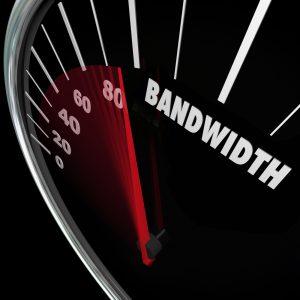 Bandwidth Usage of Website