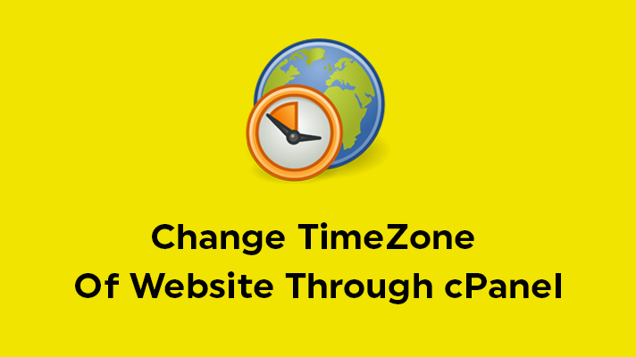 Change TimeZone of website cPanel htaccess