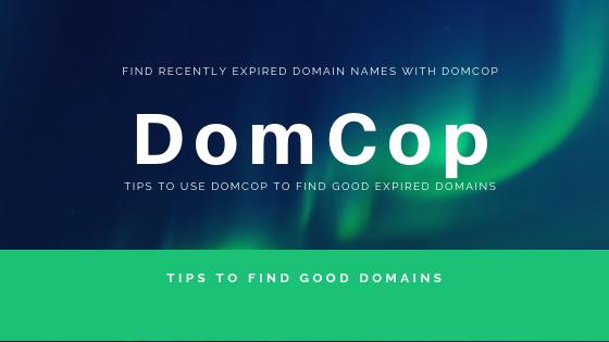 DomCop-expired-domain-finder
