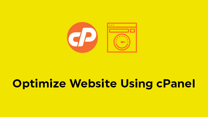 Optimize Website Using cPanel