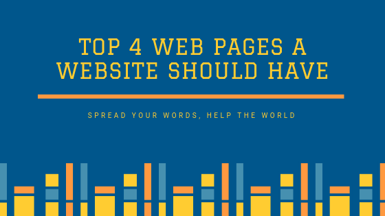 Web-pages-a-website-should-have