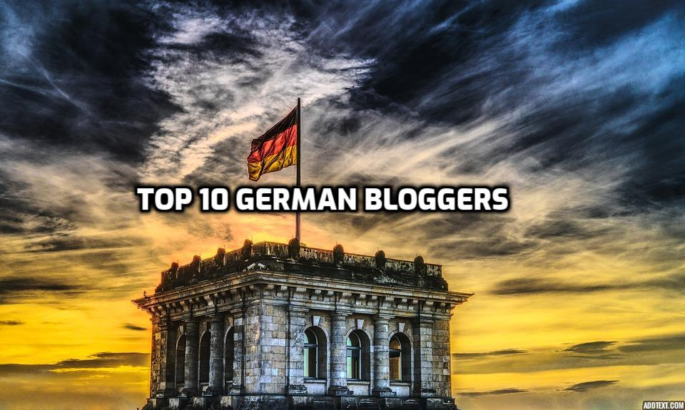 blogging in German