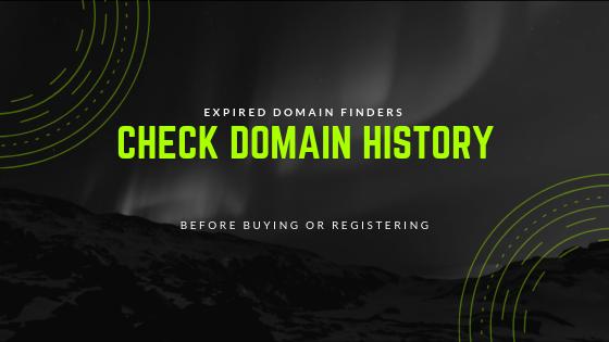 check-domain-history