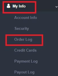 Check Order Log