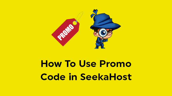 How To Use Promo Code in SeekaHost