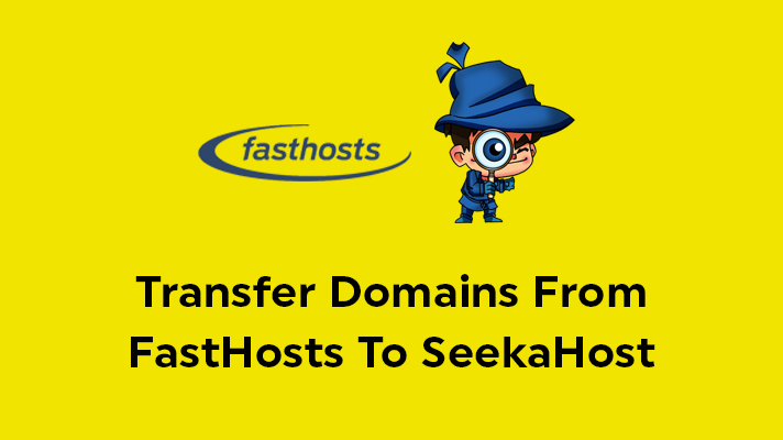 Transfer Domains From FastHosts To SeekaHost