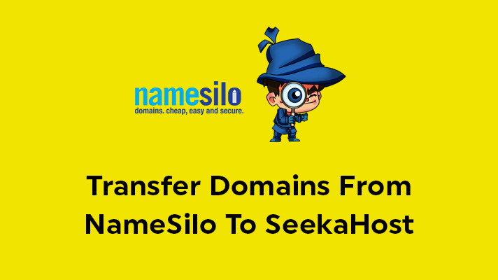 Transfer Domains From NameSilo To SeekaHost