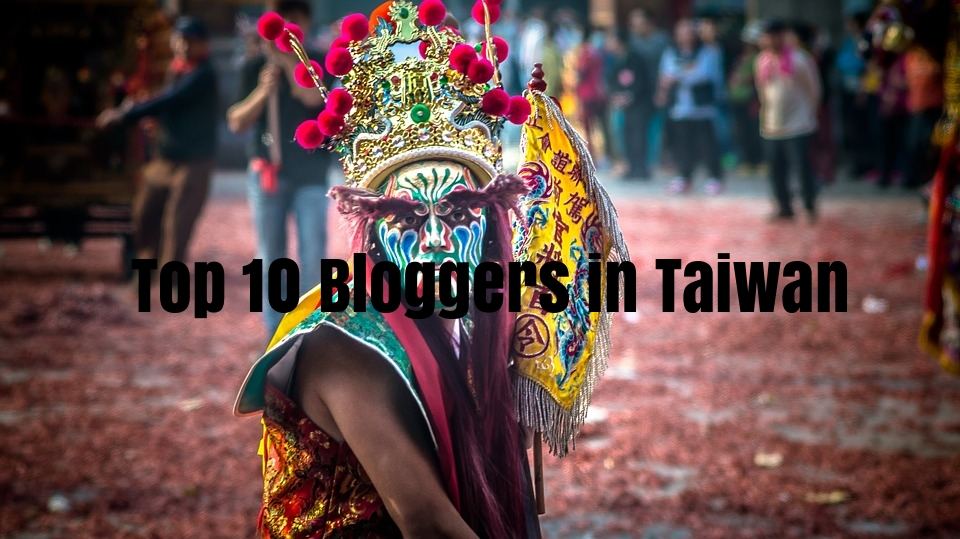 Top Taiwanese bloggers