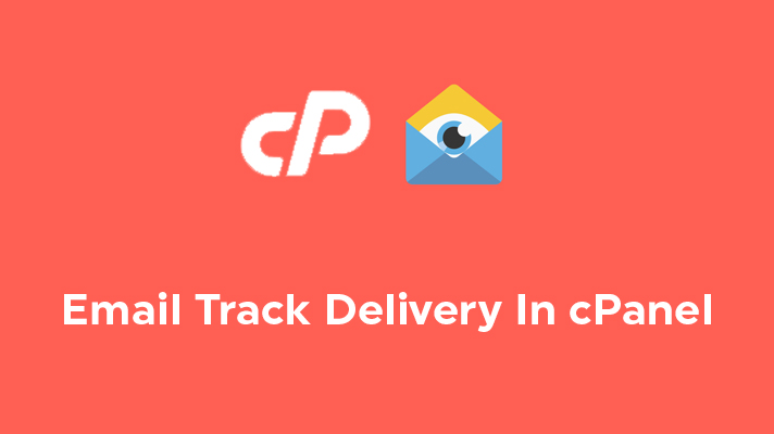 Email Track Delivery In cPanel