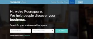 Foursquare - business directory listing india