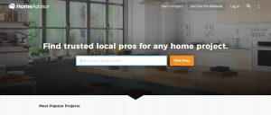 HomeAdvisor - business citation for india