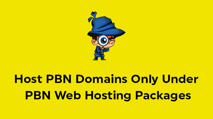 Host PBN Domains Under PBN Hosting