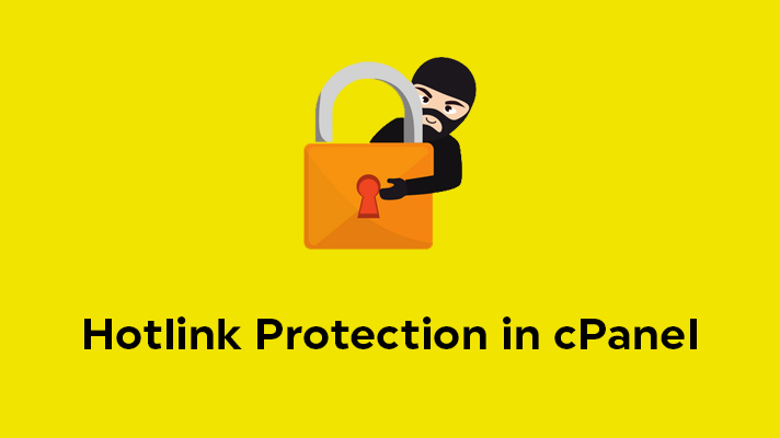Hotlink Protection in cPanel