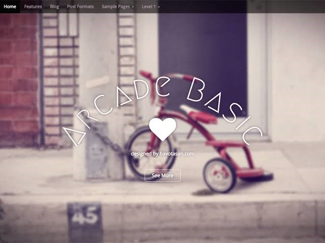 Arcade Basic WordPress Theme