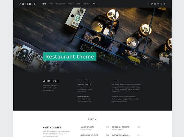 Auberge restaurant theme