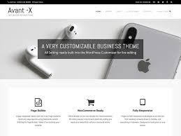 Avant WordPress Theme
