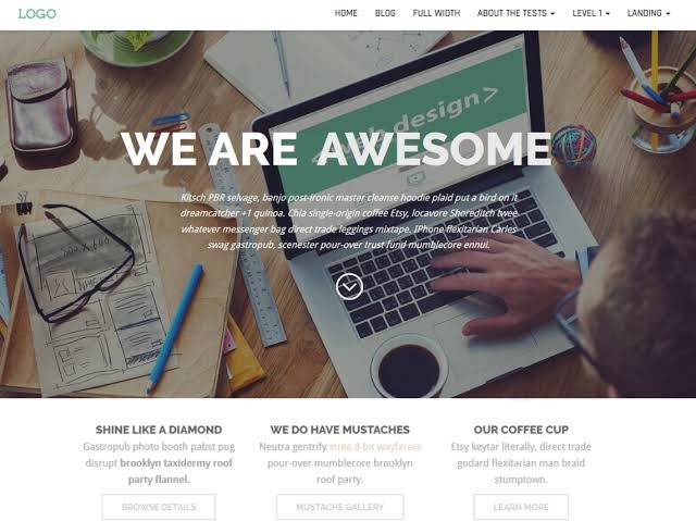 Business Press - WordPress Free Theme