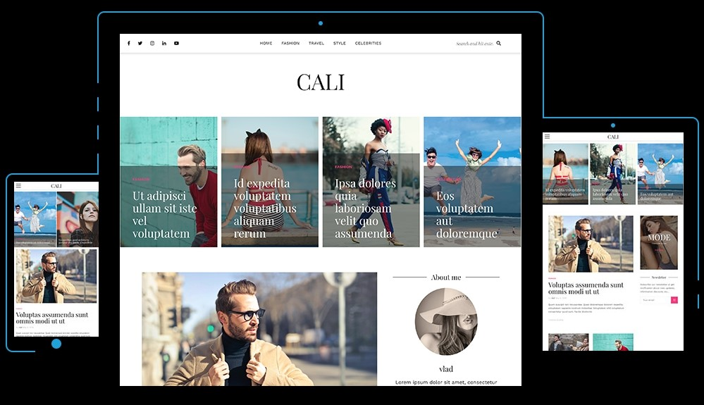 Cali Free WordPress Theme