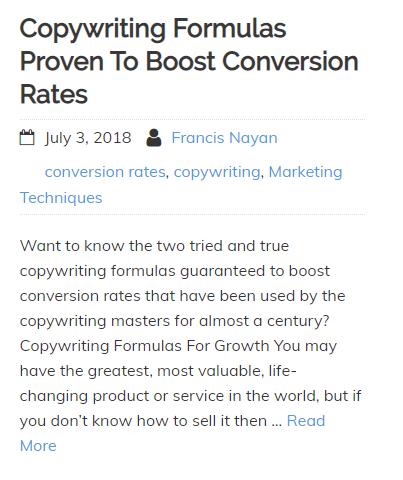 Copywriting-Formulas