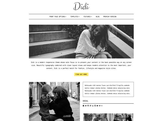 Didi WordPress Theme