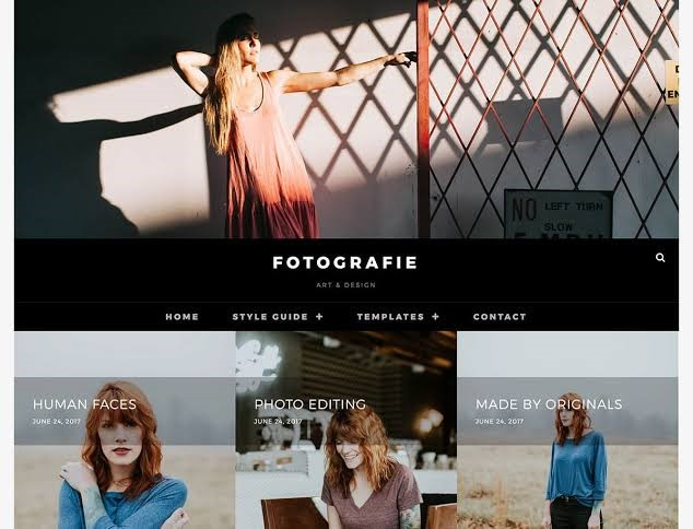 Fotography - Free Theme For WordPress
