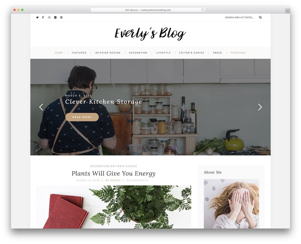 Free Theme For WordPress Everly Note