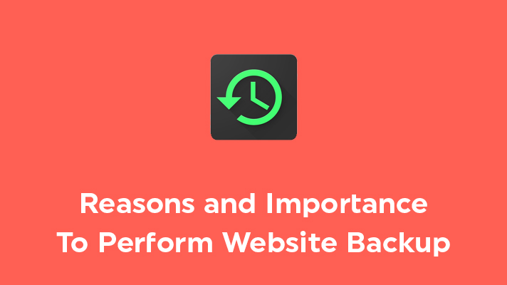 Importance of website backup
