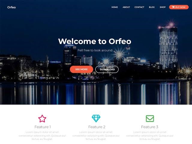 Orfeo - WordPress Theme