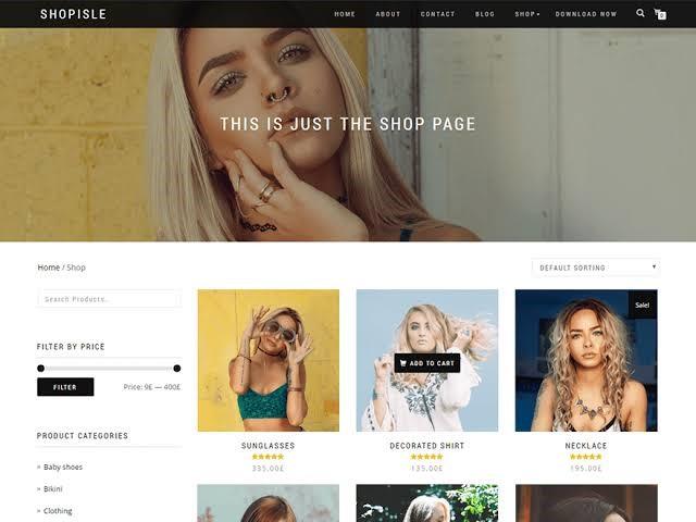 Shop Isle - Free Theme
