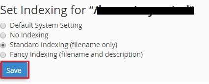 Set indexing file for directory