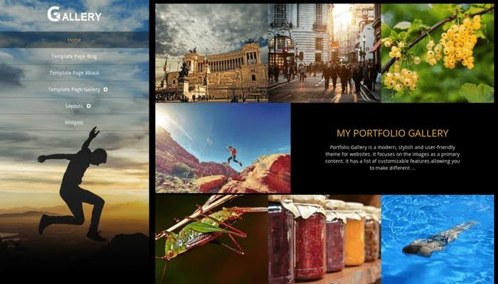 WordPress Theme for Portfolio Gallery