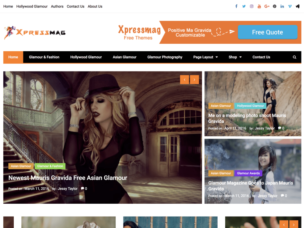 Xpressmag WordPress Magazine Theme