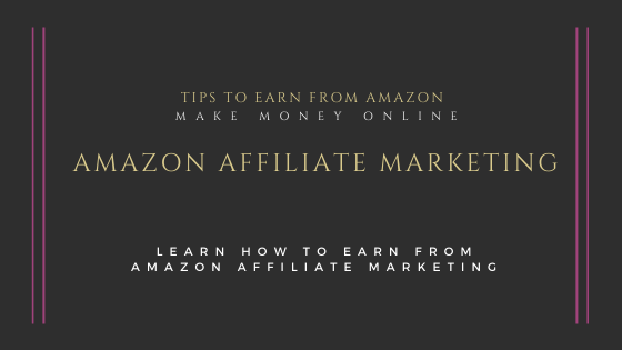 Amazon-Affiliate-marketing