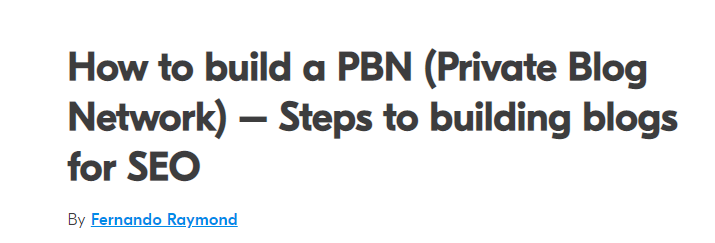 tips-to-build-a-pbn