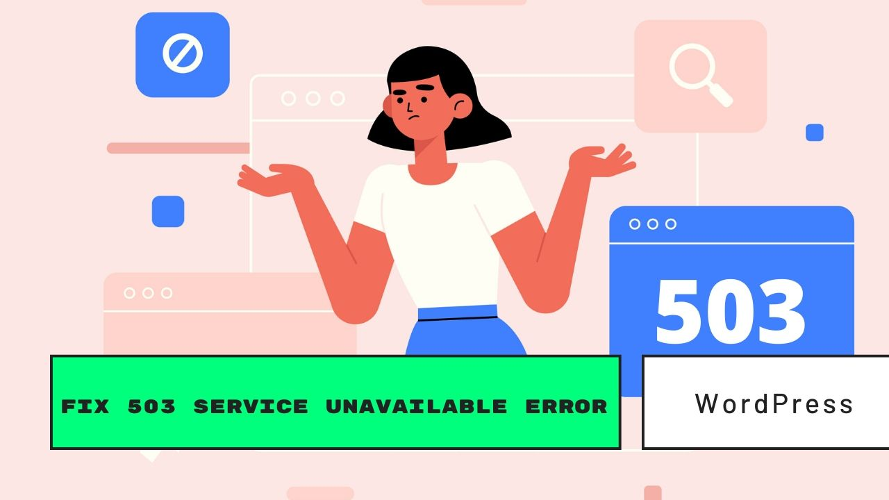 503 service unavailable fix