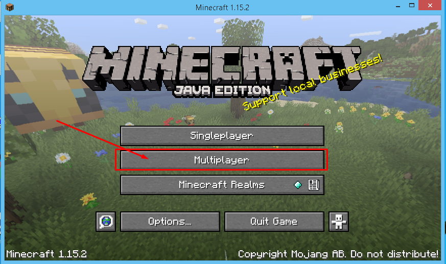select-multiplayer-mode-in-minecraft