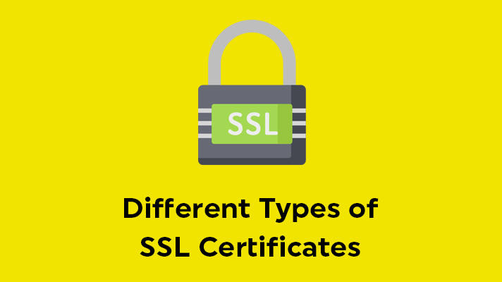 different types of ssl certificates