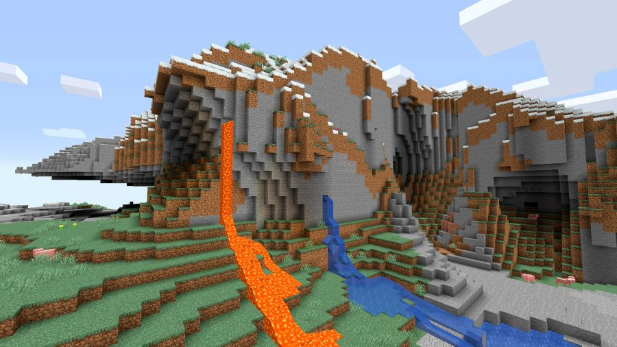 Deep Ravine and Gold Ore