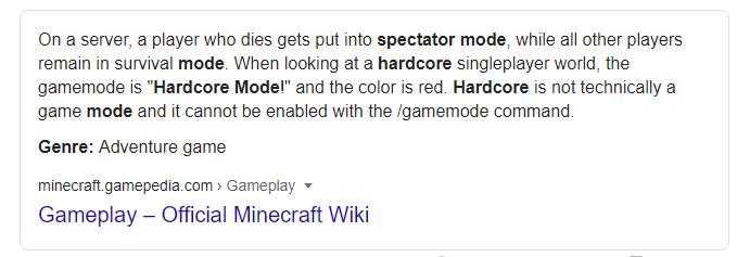 Hardcore-Spectator-Modes