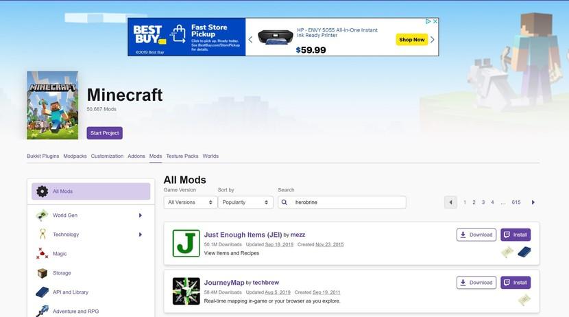 minecraft-mod-installer
