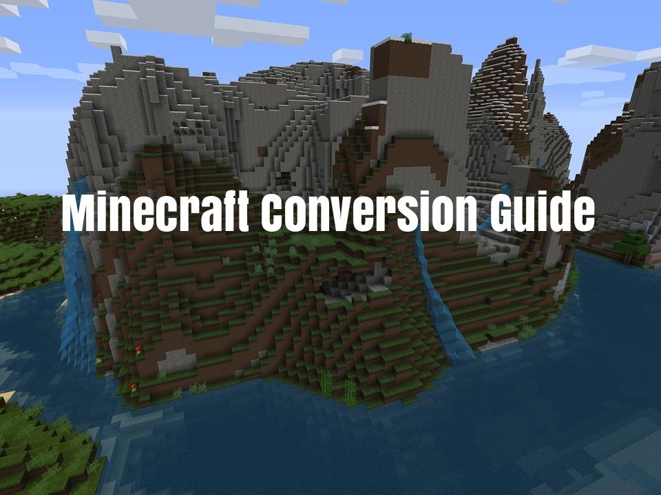 minecraft_conversion_guide