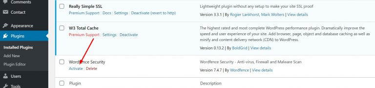 Activating-Wordfence-Security-Plugin