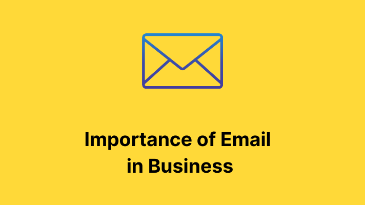 Importance of Email on business