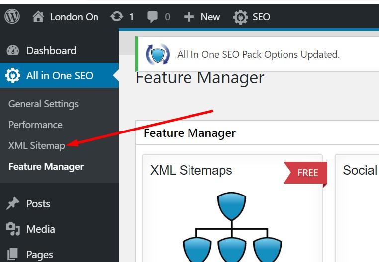 XML Sitemap Activated