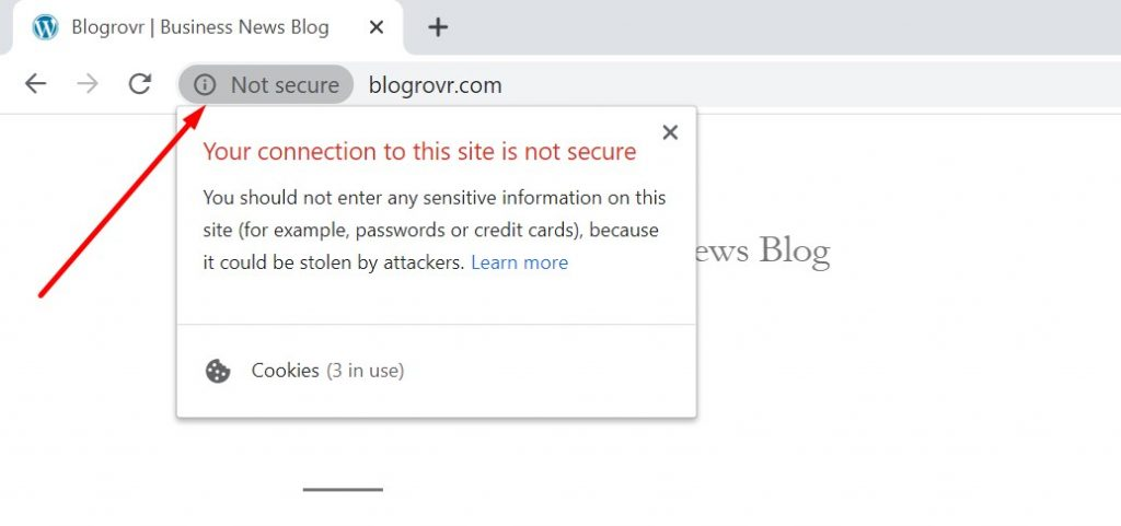 website without ssl